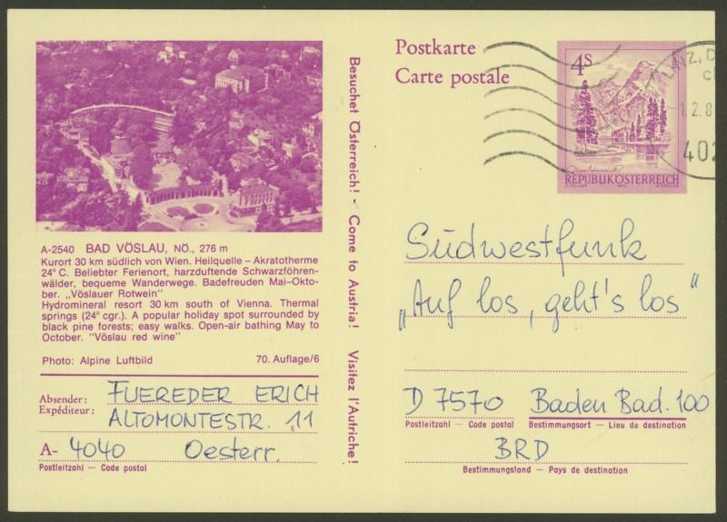 """Ganzsachen mit Wertstempel """"Schönes Österreich"""" - Seite 2 P_447_20"""