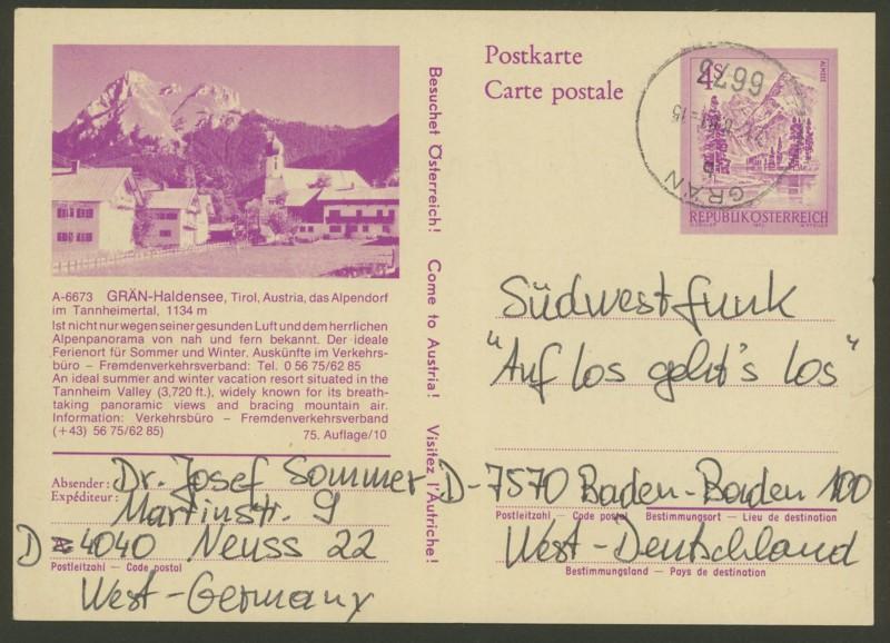 """Ganzsachen mit Wertstempel """"Schönes Österreich"""" - Seite 2 P_453_21"""