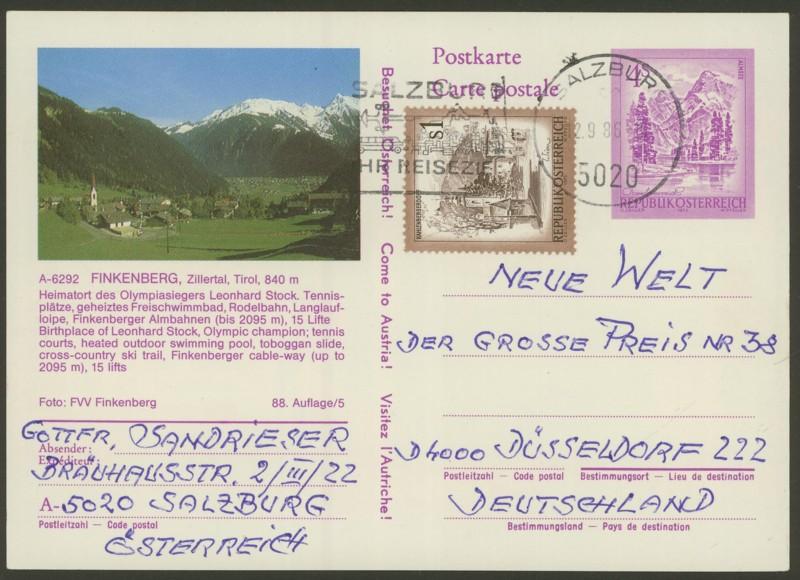 """Ganzsachen mit Wertstempel """"Schönes Österreich"""" - Seite 2 P_457_84"""