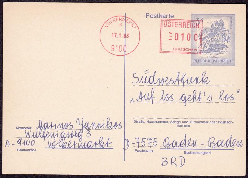 """Ganzsachen mit Wertstempel """"Schönes Österreich"""" - Seite 3 P_463_11"""