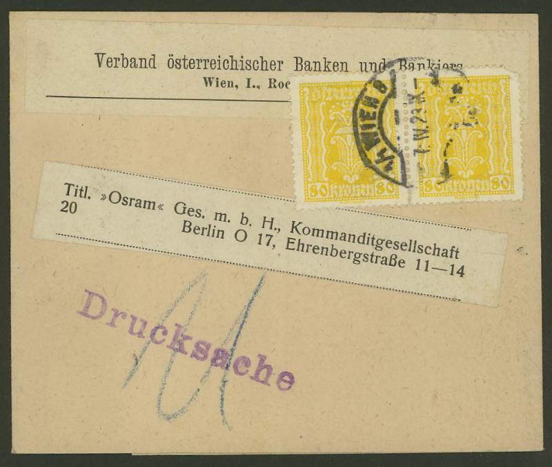 Briefe / Poststücke österreichischer Banken - Seite 2 Verban10