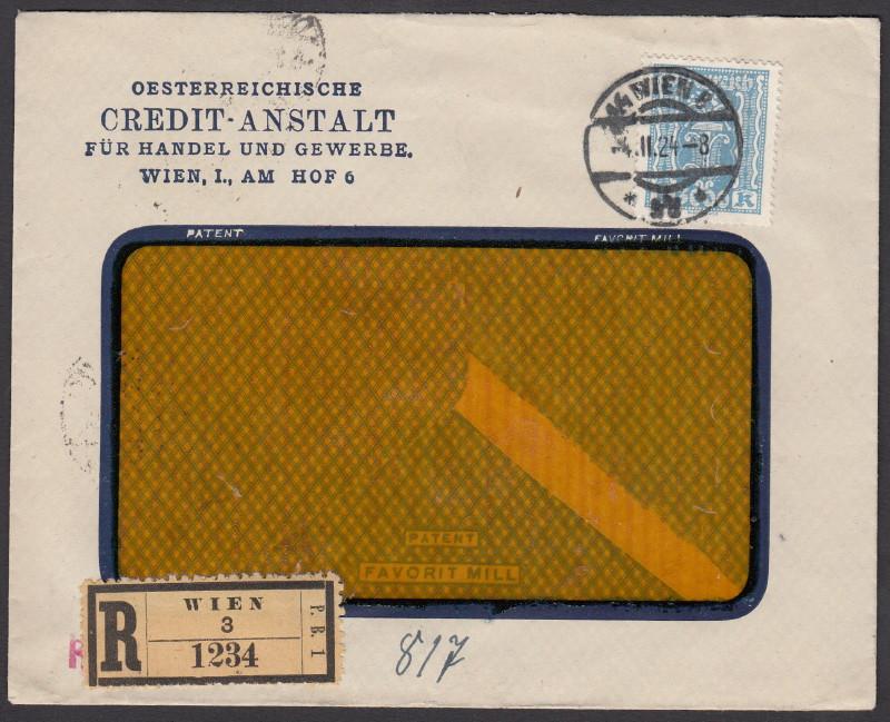 Briefe / Poststücke österreichischer Banken - Seite 2 Yuster10