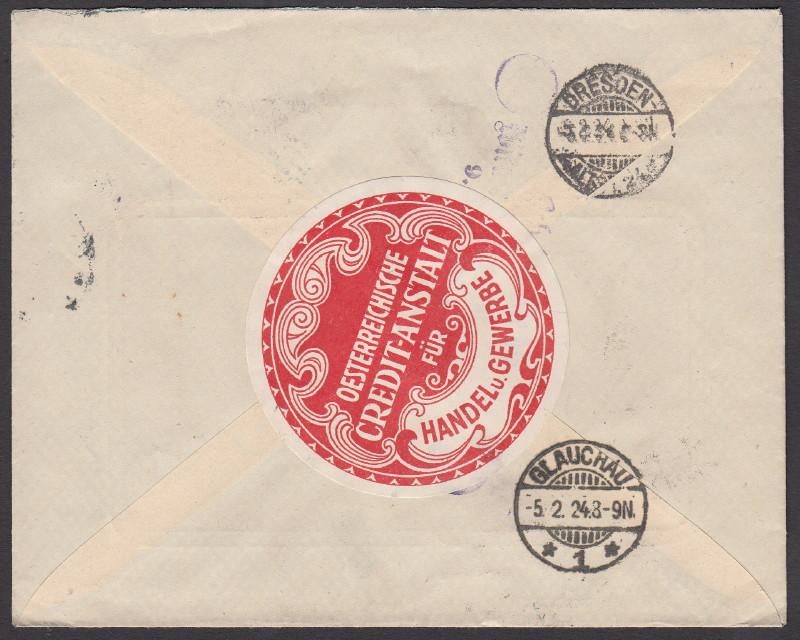 Briefe / Poststücke österreichischer Banken - Seite 2 Yuster11