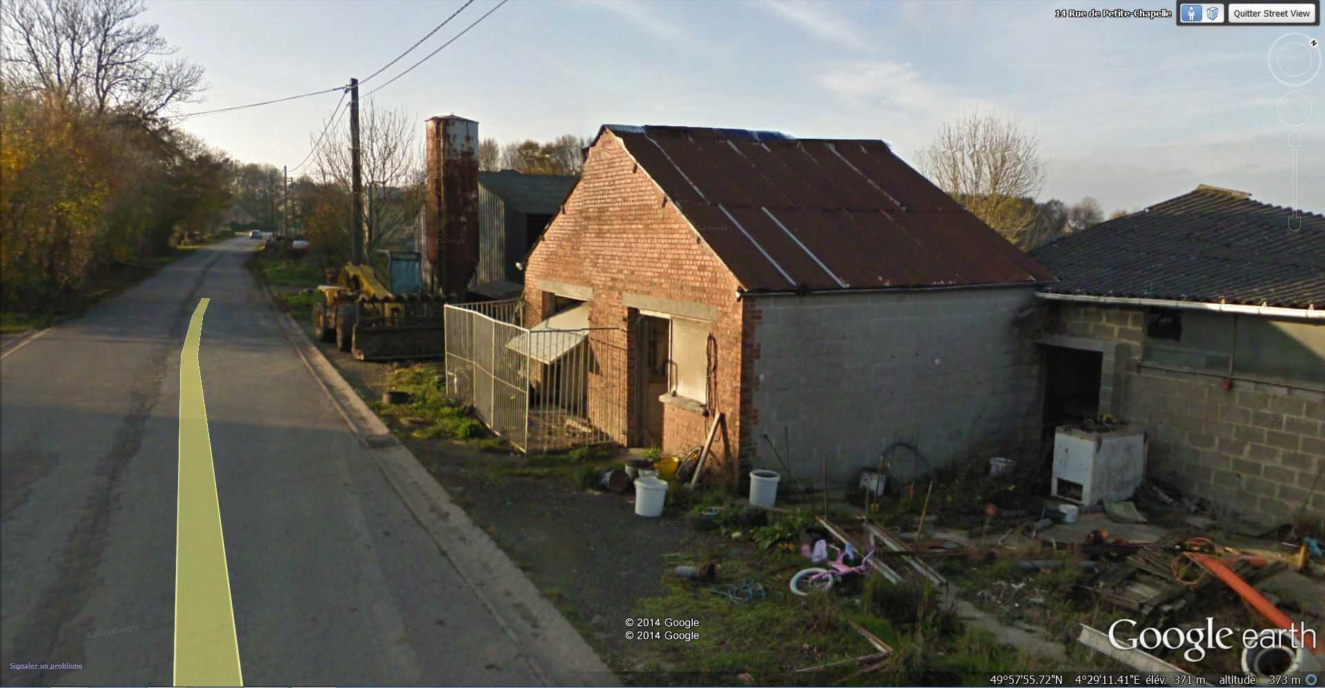 STREET VIEW : bâtiments insolites, hors normes, connus... - Page 5 2014-175