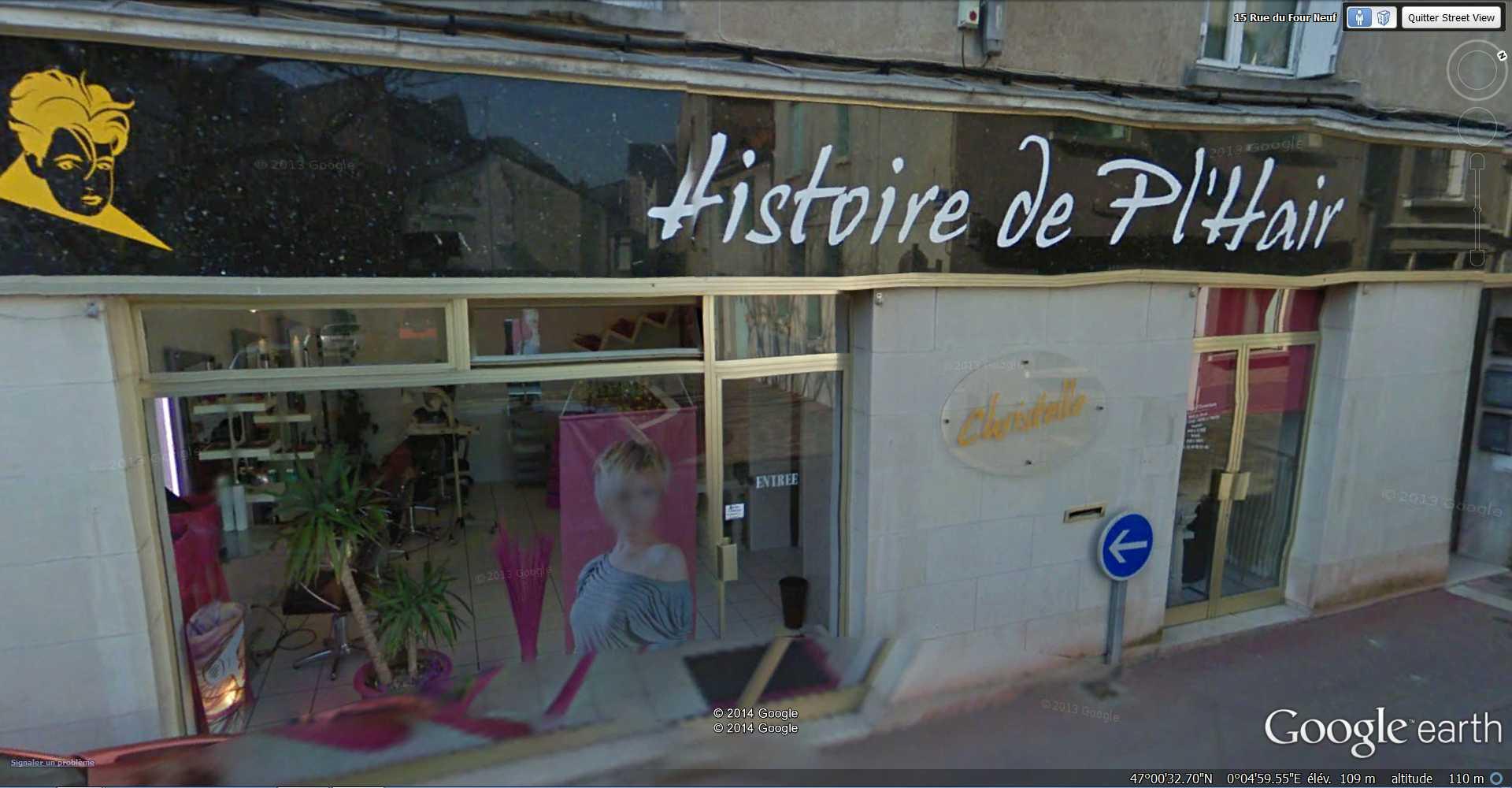 STREET VIEW : les façades de magasins (France) - Page 7 2014-184
