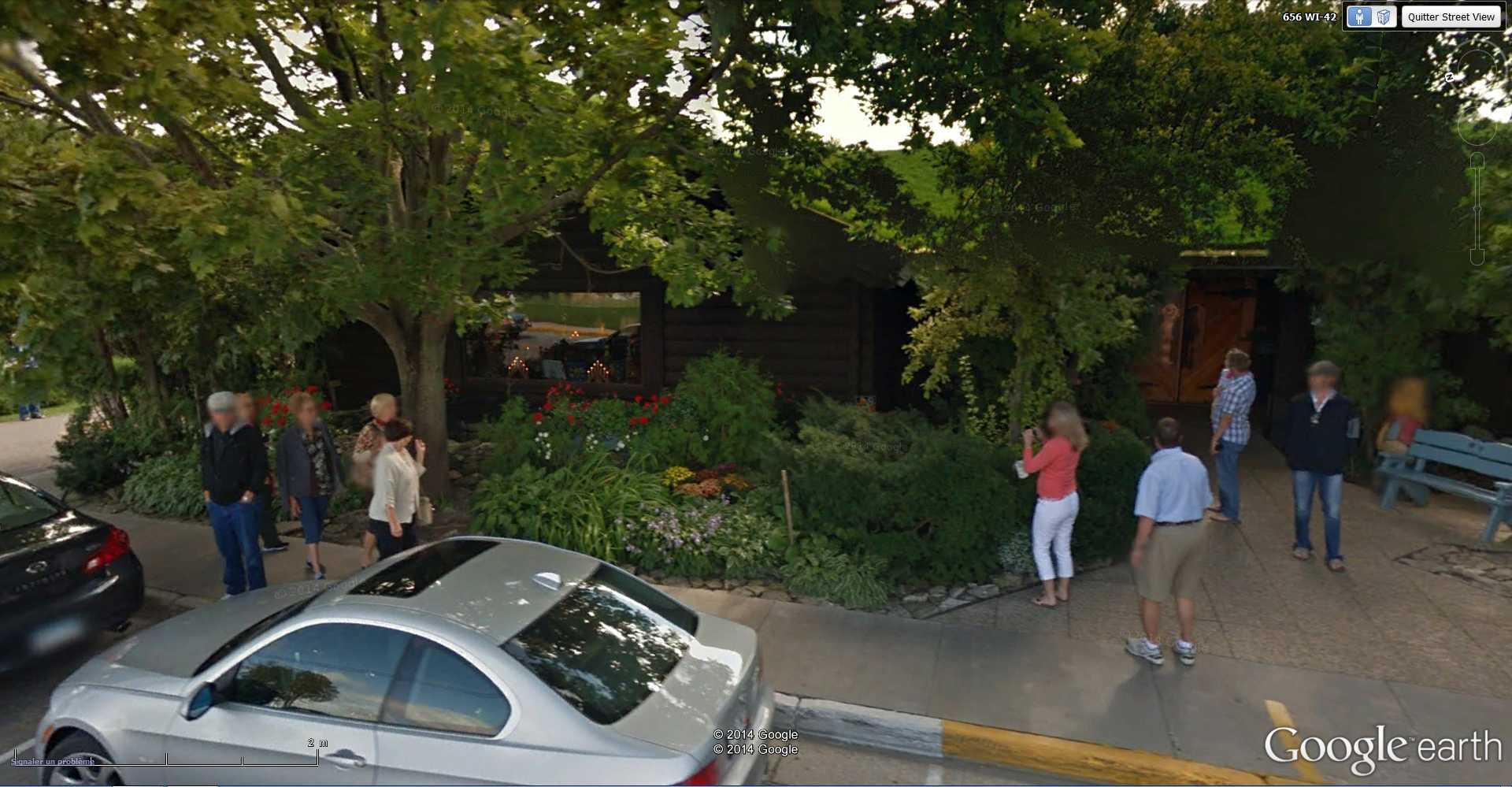 STREET VIEW : La chèvre - Sister Bay - USA 2014-350