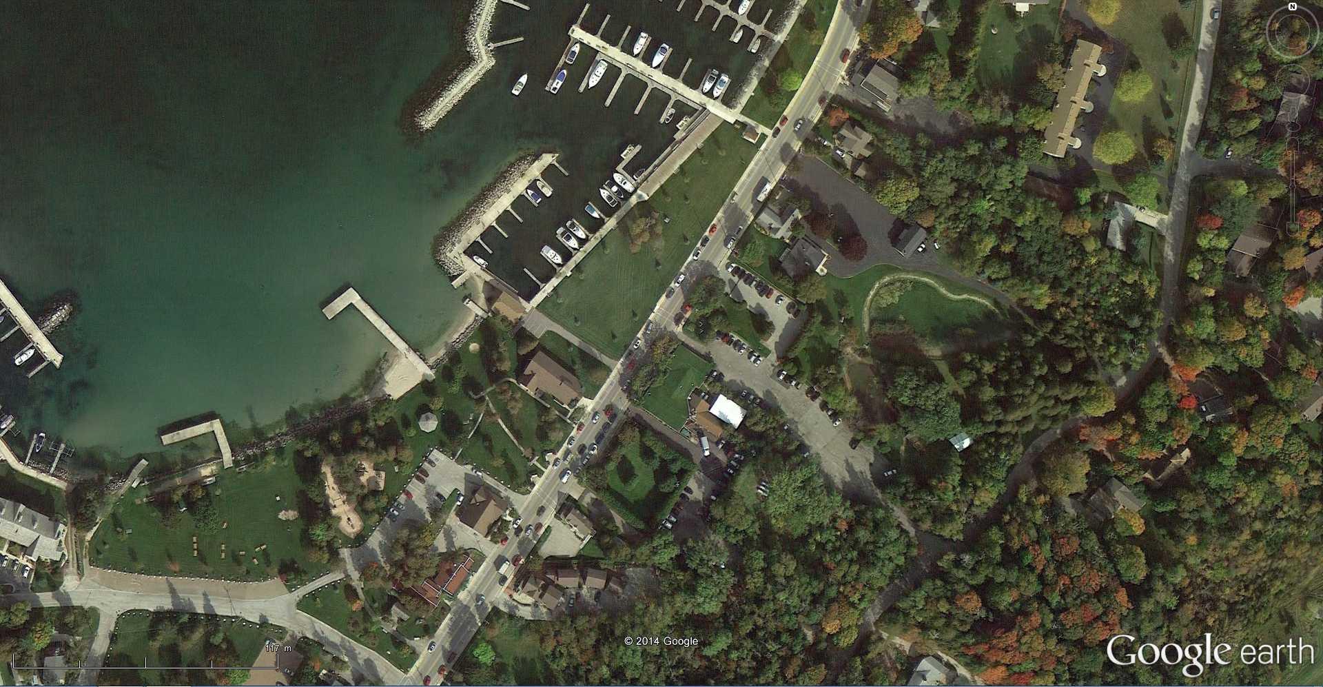 STREET VIEW : La chèvre - Sister Bay - USA 2014-352