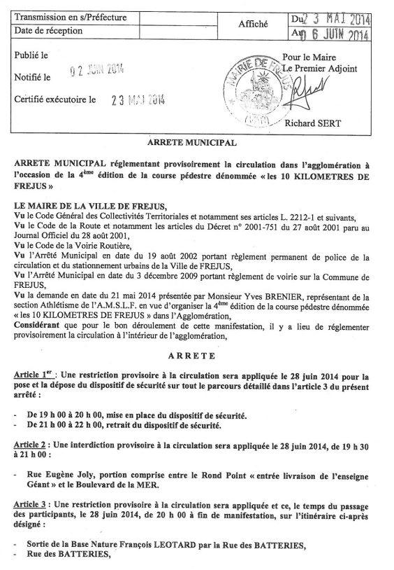 28 juin 2014 - les 10kms de Fréjus 10kmfr10