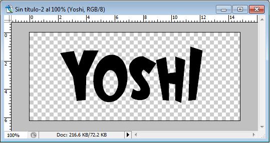 """Letra tipo """"Yoshi""""  Yoshi_17"""