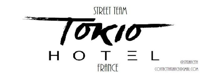Streetteam Tokio Hotel France 0211