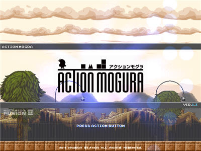 Action Mogura (excellent Japanese action platformer shooter) Action11