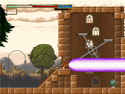 Action Mogura (excellent Japanese action platformer shooter) Action12