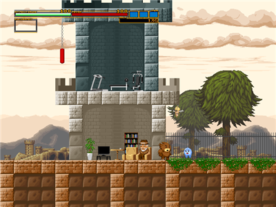 Action Mogura (excellent Japanese action platformer shooter) Action14