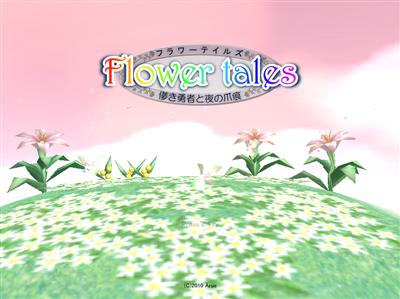Flower Tales (Japanese 3D RPG adventure) Flower10