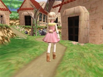 Flower Tales (Japanese 3D RPG adventure) Flower12