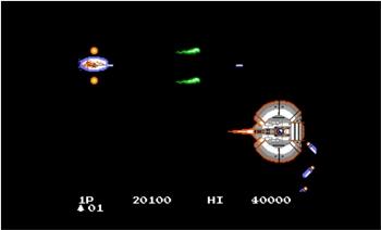 Infinos (Japanese arcade side scrolling shooter) Infino13