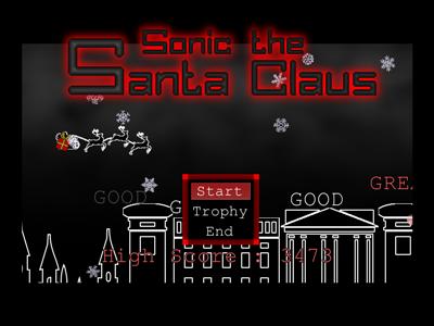 Sonic The Santa Claus (very short Xmas action game) Screen18