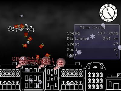 Sonic The Santa Claus (very short Xmas action game) Screen19