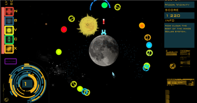 Space Resistance (Space Invader Gyruss clone shooter) Space_13