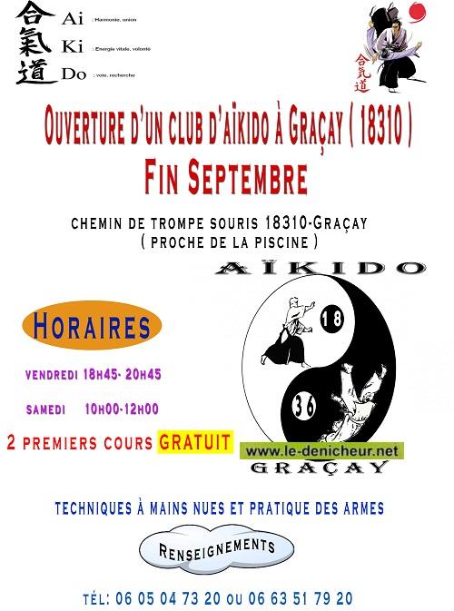 i30 -  Fin septembre - GRACAY - Ouverture d'un club d'Aïkido 09-3010