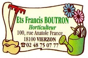 VIERZON - Ets BOUTRON Francis - Horticulteur - Vente direct Vierzo10