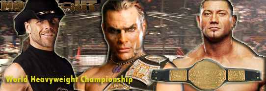 No Way Out - Shawn Michaels vs. Jeff Hardy. vs Batista Whc10
