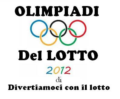 Olimpiadi del Lotto 2012 dal 08/01 al 19/01/13 Olimpi10