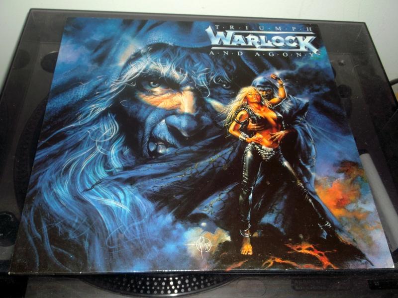 """WARLOCK  """"Triumph and Agony """" 1987 Dscf0226"""