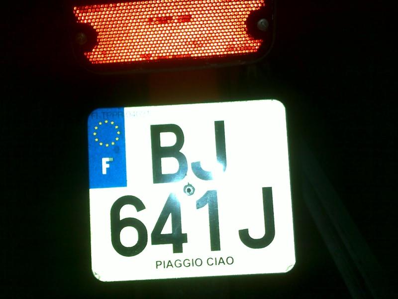 Support de plaque Maison  11012011