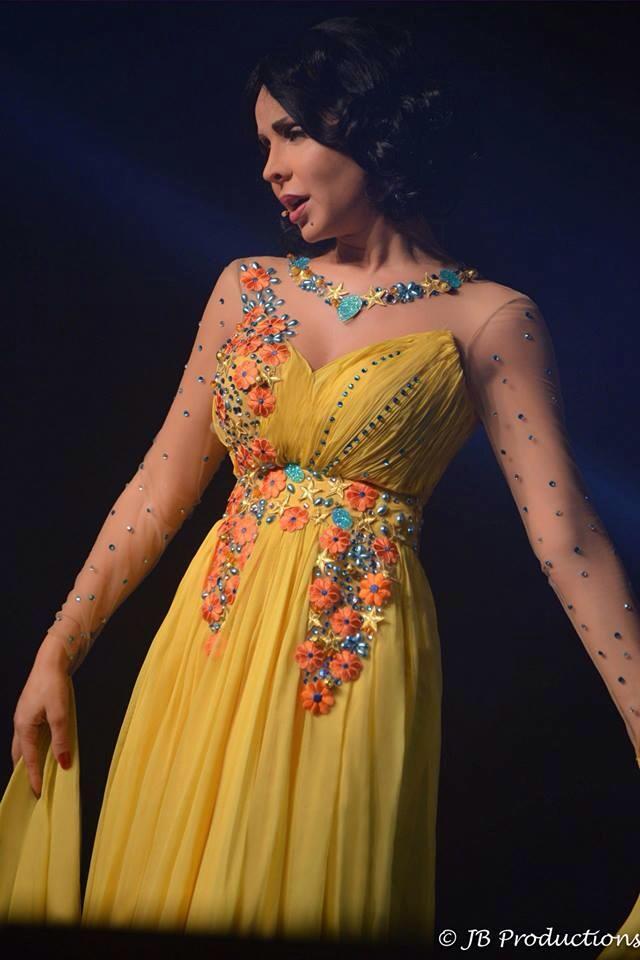 صور رولا سعد من برنامج ليالي الانس 2014 10418510