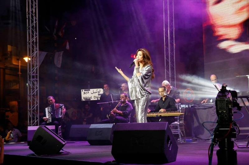 صور نانسي عجرم بحفل بالاشرفية بلبنان 2014 10476310