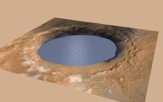 Curiosity révèle un ancien lac 8bbd5310