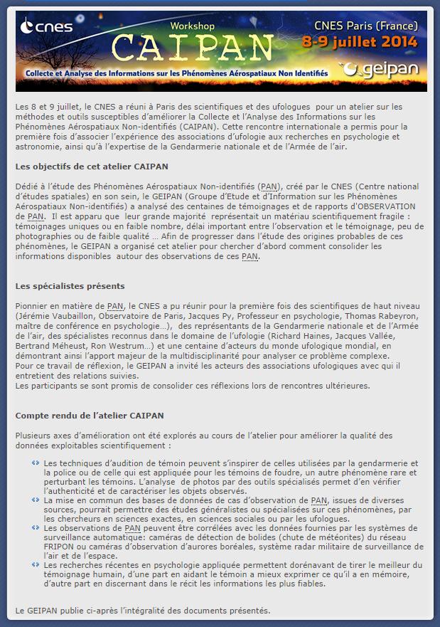 ATELIER CAIPAN AU CNES, 8-9 JUILLET 2014, CNES PARIS Caipan10
