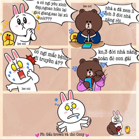 Chuyện Gấu Brown và thỏ Cony - Page 3 76a23710