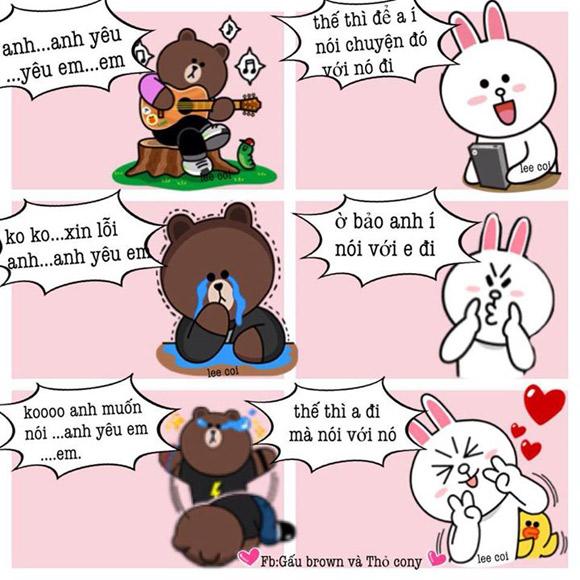 Chuyện Gấu Brown và thỏ Cony - Page 3 9e310510