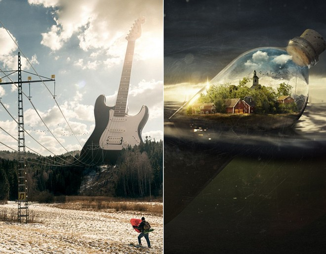 Loạt ảnh photoshop thực - ảo _ Nhiếp ảnh gia Erik Johansson Anh-si15