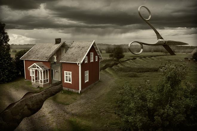 Loạt ảnh photoshop thực - ảo _ Nhiếp ảnh gia Erik Johansson Anh-si23