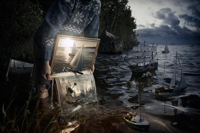 Loạt ảnh photoshop thực - ảo _ Nhiếp ảnh gia Erik Johansson Anh-si24
