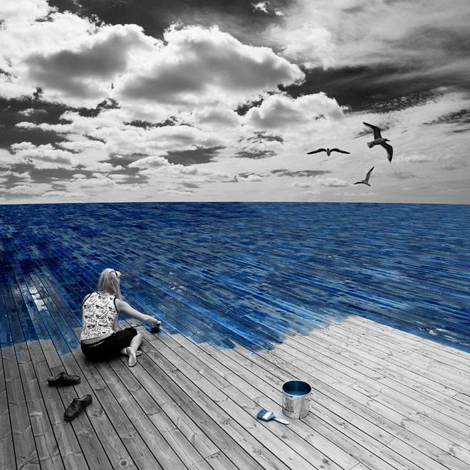 Loạt ảnh photoshop thực - ảo _ Nhiếp ảnh gia Erik Johansson Anh-si29