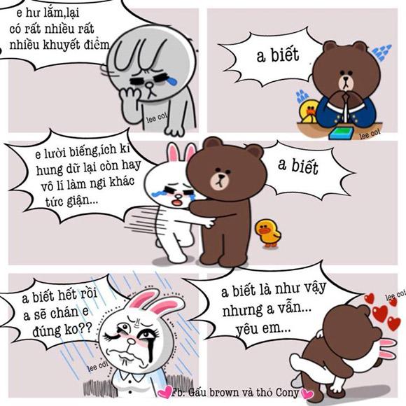 Chuyện Gấu Brown và thỏ Cony - Page 3 C630ed10