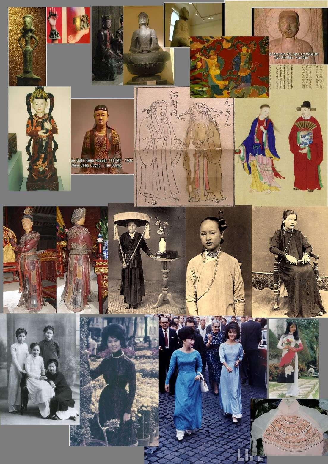 Hình ảnh về trang phục lịch sử Việt Nam Clothi12