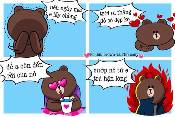 Chuyện Gấu Brown và thỏ Cony - Page 3 Ef790410