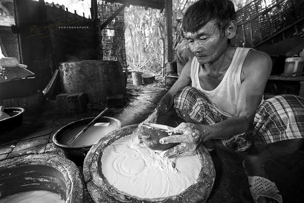 Mộc mạc nghề bún cổ truyền Bình Định Lam-bu10