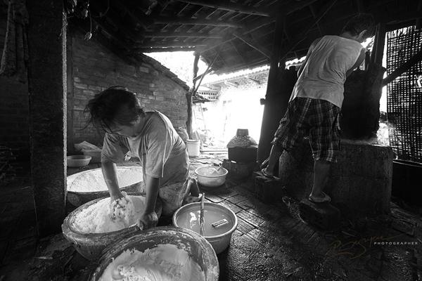 Mộc mạc nghề bún cổ truyền Bình Định Lam-bu11