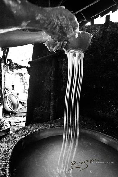 Mộc mạc nghề bún cổ truyền Bình Định Lam-bu13