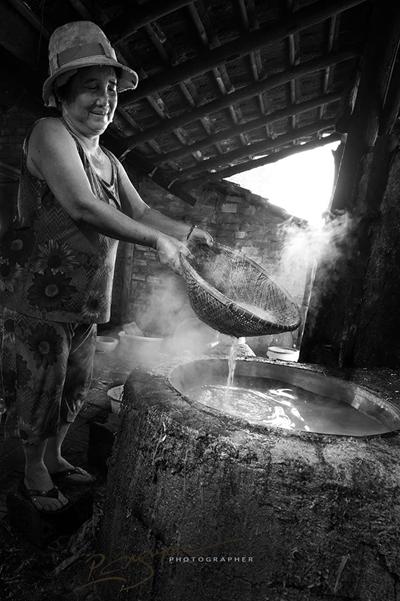 Mộc mạc nghề bún cổ truyền Bình Định Lam-bu14