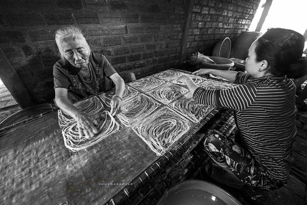 Mộc mạc nghề bún cổ truyền Bình Định Lam-bu15
