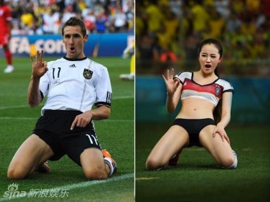 Khi người đẹp tạo dáng giống cầu thủ World Cup My_nha11