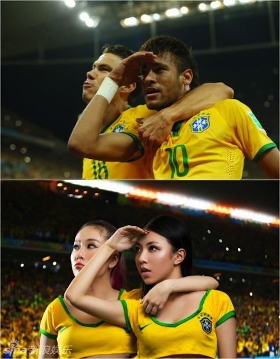 Khi người đẹp tạo dáng giống cầu thủ World Cup My_nha13