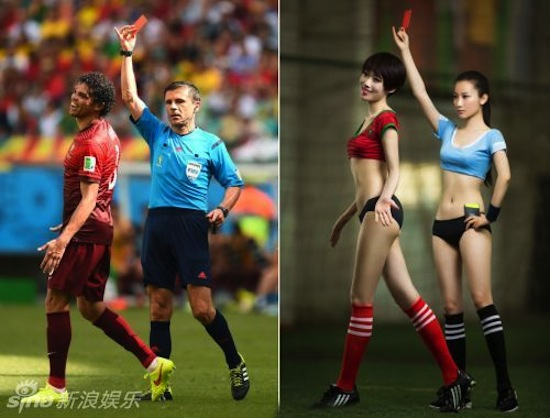 Khi người đẹp tạo dáng giống cầu thủ World Cup My_nha15